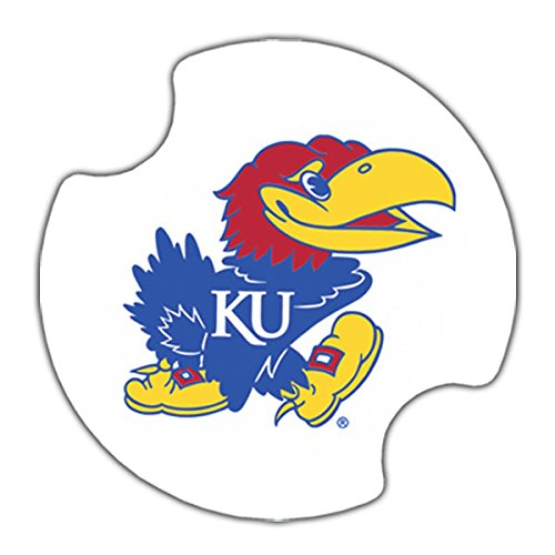 Thirstystone University of Kansas Car Cup Holder Coaster, 2-Pack