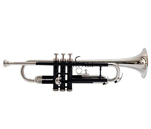 Nasir Ali Tr-08 Trumpet, Bb, Black and Nickel