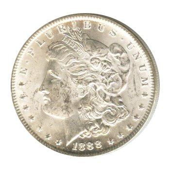 1888-O Uncirculated BU Morgan Silver Dollar