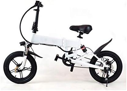 Bicicleta Eléctrica Rider Pro S9 Plegable E-Bike LED 25km/h Pedaleo asistido e Bike (Blanco): Amazon.es: Deportes y aire libre