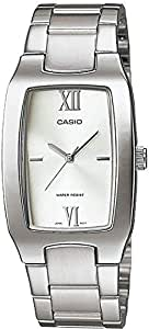 Casio Enticer Men's Silver Dial Stainless Steel Band Watch [MTP-1165A-7C2]