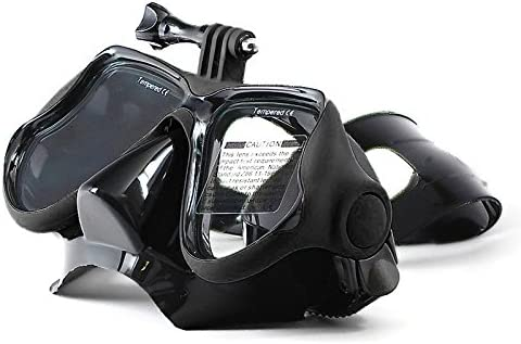 Color : Black Xiaoyi and Other Action Cameras Durable //3//2 //1 Water Sports Diving Equipment Diving Mask Swimming Glasses for GoPro New Hero //HERO6 //5//5 Session //4 Session //4//3