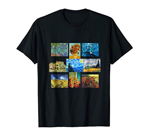 Vincent Van Gogh Masterpiece Art Gift Apparel