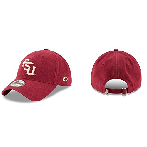 New Era Men's Florida Seminoles Core Classic Dark Red One Size Fits All (Cap Fsu)