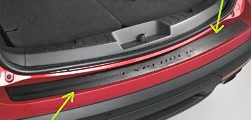 Oem Factory Stock Genuine 2016 Ford Explorer Rear Back Black Top Bumper Applique Self Adhesive Step Scuff Pad Protector Scratch Guard W Logo Stock Applique