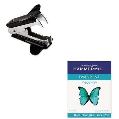 KITHAM125534UNV00700 - Value Kit - Hammermill Laser Print Office Paper (HAM125534) and Universal Jaw Style Staple Remover (UNV00700)