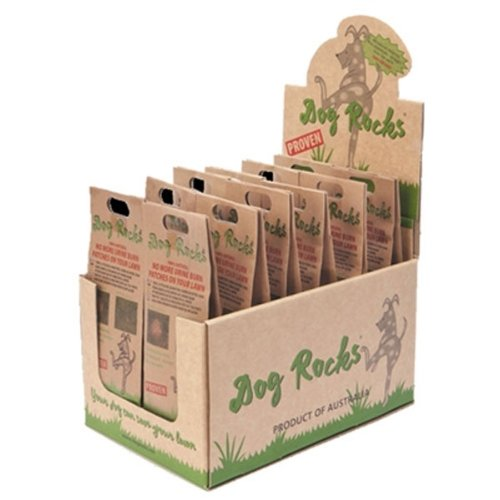 Dog Rocks 12-Pack Natural Pet Urine Lawn Spot Eliminator, 24 Months Supply by Dog Rocks