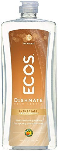 Earth Friendly Products Dishmate, Dishwashing Liquid, Natural Apricot (6-Pack) Dishmate Natural