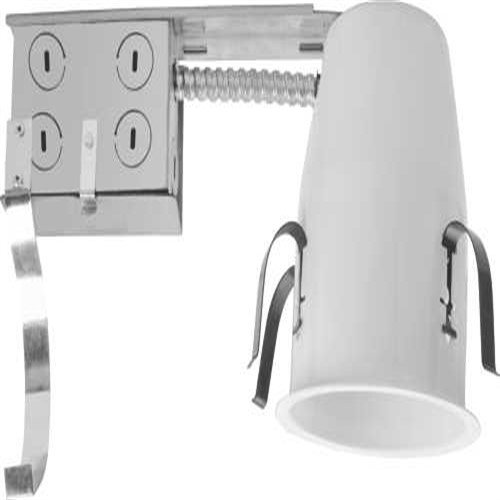 Monument 298943 4-inch Non Ic-Rated Remodel Housing, Uses 1 50W Mr16 Lamp, 5.963'' x 5.963'' x 5.963''