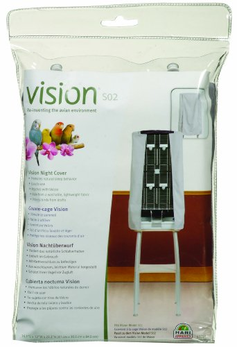 Vision Small Bird Cage Night Cover for Model...