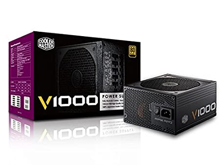 Cooler Master Vanguard 1000W A/UK Cable Power Supply Components at amazon