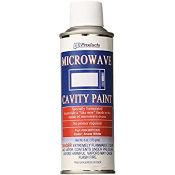 Amazoncom Qb Products 98qbp0302 Microwave Cavity Paint 6 Oz Snow