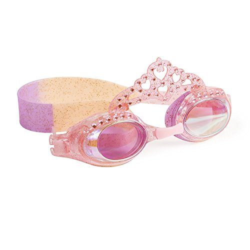 Swimming Goggles For Girls - Your Highness Pink Princess Crown Swim Goggles By (Princess Swimming Goggles)