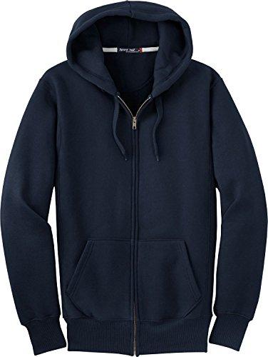 Sport-Tek - Super Heavyweight Full-Zip Hooded Sweatshirt-2XL (True - Sweatshirt Heavyweight Hooded Adult