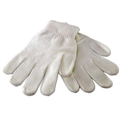 Replacement Premium Magic Stretch Gloves (Medium, White)