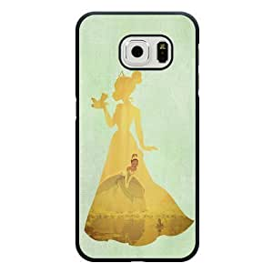 For SamSung Note 2 Case Cover Diy Disney Princess And The Frog Black Hard Shell For SamSung Note 2 Case Cover Princess And The Frog Edge Case(Only Fit for Edge)