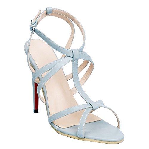 Sommer Absatz Damen Slingback Faschion Bügel T reizvolle Absatz Sandelholz Partei Schuhe Kolnoo 17d8Yqxw8