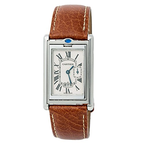 Cartier Tank Basculante Quartz Mens Watch 2522 (Certified Pre-Owned)