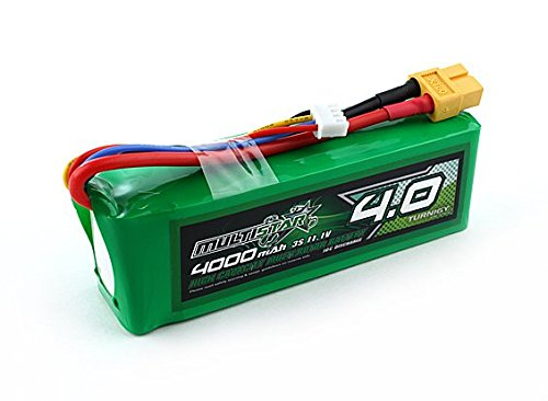 Multistar High Capacity 3S 4000mAh Multi-Rotor Lipo Pack