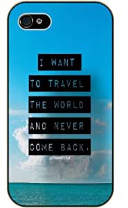 """iPhone 6 (4.7"""") I think I'll try defining gravity and you can't pull me down - black plastic case / Walt Disney And Life Quotes"""