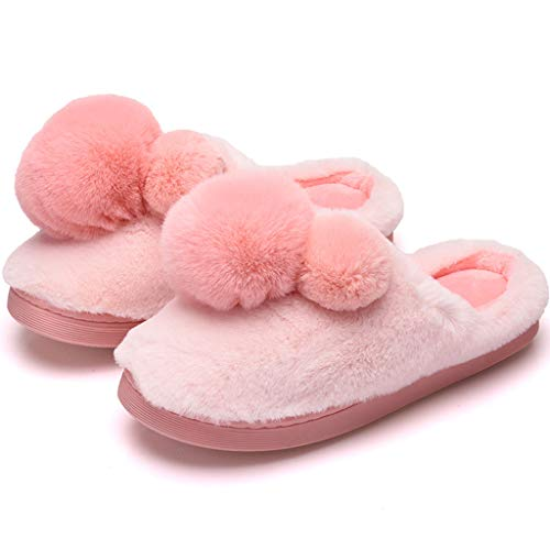 Cotone Inverno Antiscivolo Mop Invernale Infradito Pink Zhiling Di Ciabatte Caldo Femminile xInqpART