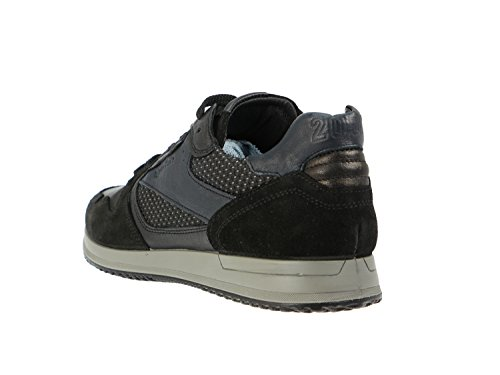 amp;co estraibile plantare 6723 sneaker Scarpa uomo Igi NERO 7FdwU0q
