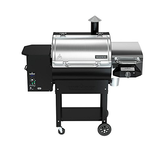 Read About Camp Chef Woodwind Pellet Grill without Sear Box - Featuring Smart Smoke Technology - Con...