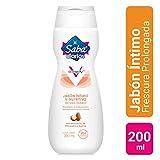 Saba Jabón Íntimo V-Nutritivo; Extractos de Almendra y Karité para Hidratación Natural; 200 ml