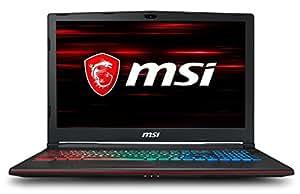 "MSI GP63 8RD-048CA Leopard 15.6"" FHD Gaming Laptop (8th Gen i7-8750H, GTX1050TI, 16GB, 128GB SSD+1TB HDD), Windows 10"