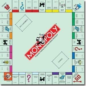 Amazon Com Monopoly Tablero De Juego 12 X 12 Papel De Recortes Hbcp001 Office Products