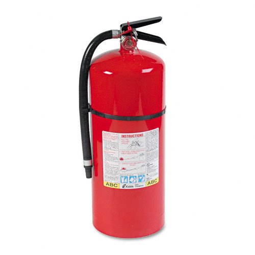 Fire Extinguishers Charge Weight - Kidde : Pro Line Tri-Class Dry Chemical Fire Extinguishers, Charge Weight 18 lbs. -:- Sold as 2 Packs of - 1 - / - Total of 2 Each