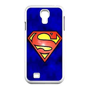 Samsung Galaxy S4 9500 Cell Phone Case White Abstract Funny Superman Logo SLI_513252