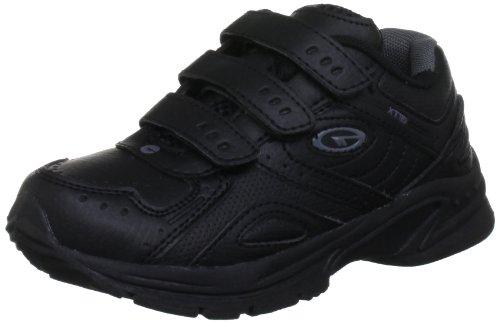 Hi-Tec Xt115 Ez Jnr - Calzado de deporte de material sintético niño negro - Black/Charcoal