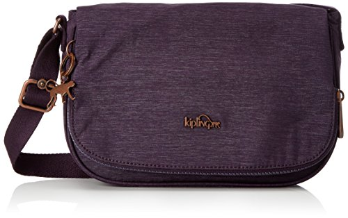 Bag Body S Spark Kipling Aubergine X56 Earthbeat Cross Womens Purple XB4qS