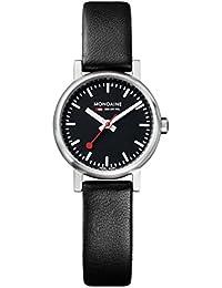 Women's A658.30301.14SBB Quartz Evo Leather Band Watch