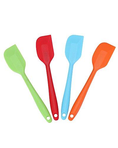 Silicone Spatula Set Heat Resistant Dishwasher product image