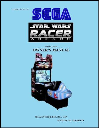 (Star Wars Racer Arcade Game Service & Repair)