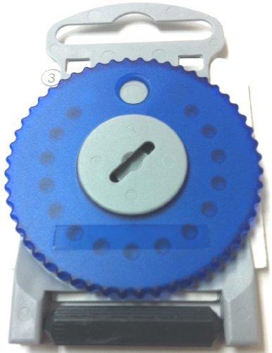 HF4 BLUE Wax Guard Wheel for Siemens Hearing Aids - BLUE SIDE LEFT by Siemens