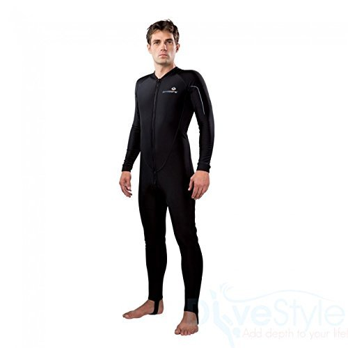 New Men's LavaCore Trilaminate Polytherm Full Jumpsuit (Medium) with Front Zipper for Extreme Watersports by Lavacore