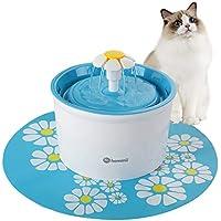 Hommii 1.6 Liters Pet Drinking Water Flower Fountain