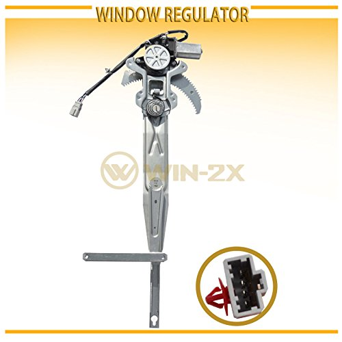 - WIN-2X New 1pc Front Passenger Right Side Power Window Regulator With Motor Assembly Fit 98-02 Honda Accord 2-Door Coupe