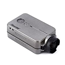 Full HD Wide Angle 1080P Mini FPV Quadcopter Action Camera for RunCam 2 Racing Drone of Aerial Drones Quadcopter Camera Aerial Camer RC Racing Drone Aaccessories (For RunCam 2(silver&gray))