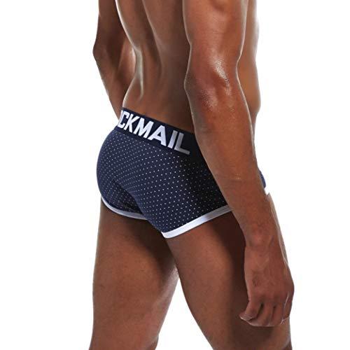 Hombre Calzoncillos Hipster Punto Shorts Boxer Breve Boxer de Calzoncillos algod Aimee7 Impreso Transpirable q8w6aXE