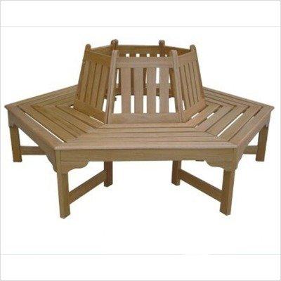 Miraculous Dc America Sl3055Co Sequoia Wrap Around Bench Hardwood Machost Co Dining Chair Design Ideas Machostcouk