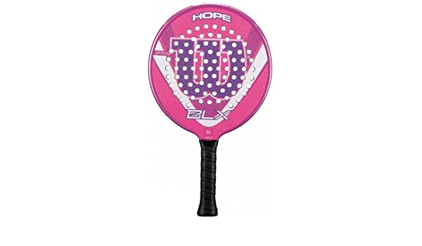 Amazon.com : Wilson 13 Hope BLX Platform Tennis Paddle : Sports & Outdoors