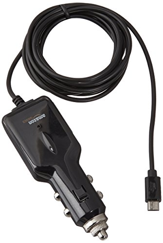 AmazonBasics Micro USB Universal Car Charger for Android - 5 Feet (1.5 Meters)