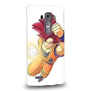 Case88 Premium Designs Dragon Ball Z GT AF Son Goku Son Goku Protective Snap-on Hard Back Case Cover for LG G4