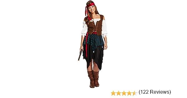Disfraz unisex, diseño de pirata caribeño: Amazon.es: Juguetes y ...
