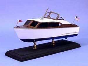 "12"" 1956 Chris Craft 24' Sedan Boat Laser Cut Kit (1/24 Scale) Dumas"