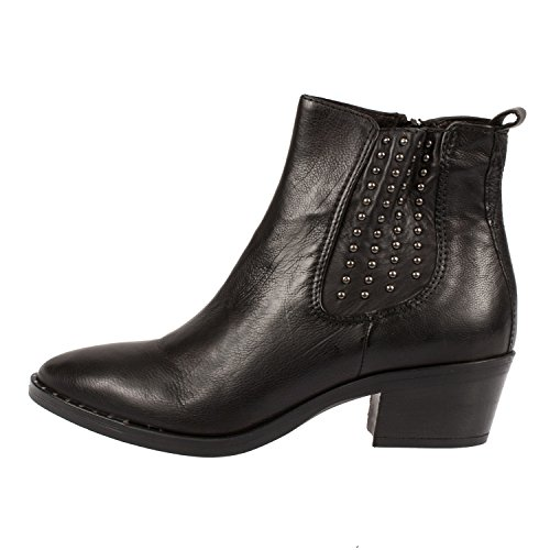 Mjus Women's Leather Studded Ankle Boot (187209) Nero vEZ1ryJO3